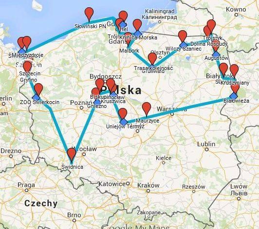Polish Road Trip 2015