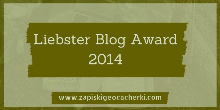 Liebster Blog Award 2014