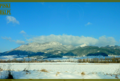 Słowacja 2015: Demänovská dolina, Chopok i pierwszy raz na nartach